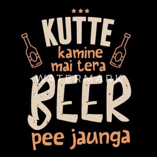 Kutte Kamine Mai Tera Beer Pee Jaunga Full Color Mug