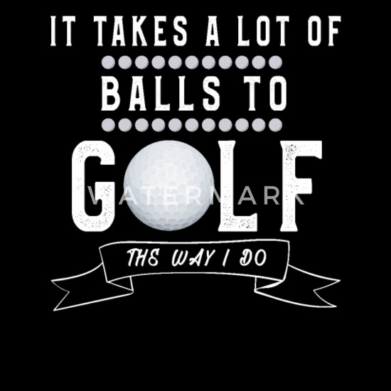 Funny Golf Design Golfer Sayings Golfing Like i Do Full