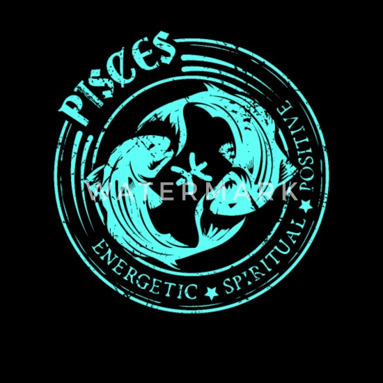 Pisces Zodiac Birthday by Star Sign Zodiac Gift Full Color