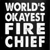 World's Okayest Fire Chief Fireman Firefighter - Full Color Mug