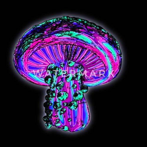 trippy shroom by grimdork spreadshirt