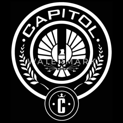 Capitol District Hunger Games Mockingjay By 5i1ent 3ob Spreadshirt