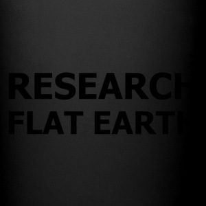 RESEARCH FLAT EARTH - Full Color Mug