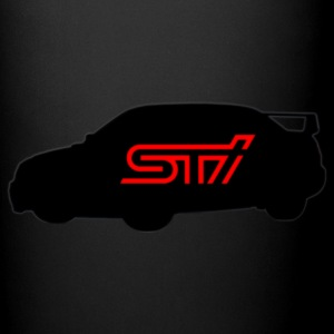 Subaru STI Logo Silhouette - JDM Sports Car - Full Color Mug