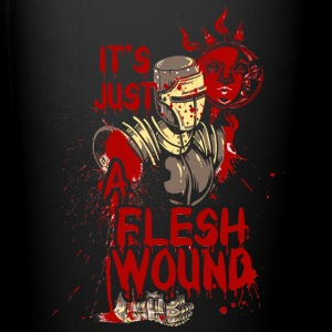 The wounded knight - it's just a flesh wound - Full Color Mug