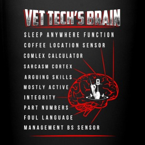 Vet Tech s brain - Full Color Mug