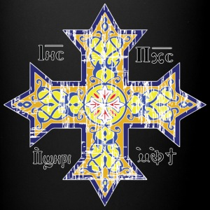 Christian Coptic Cross - Full Color Mug