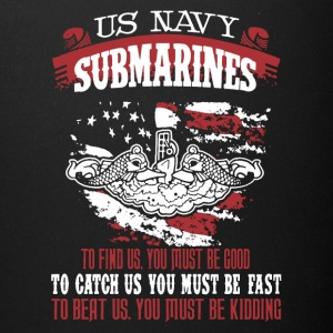 US Navy Submarine Shirt - Full Color Mug