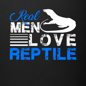Real Men Love Reptile Shirt - Full Color Mug
