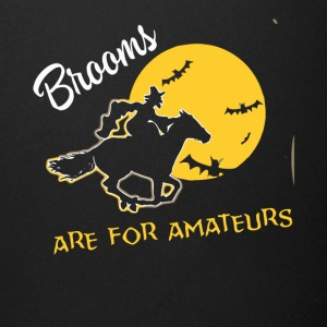 Brooms are for Amateurs witches shirt - Full Color Mug