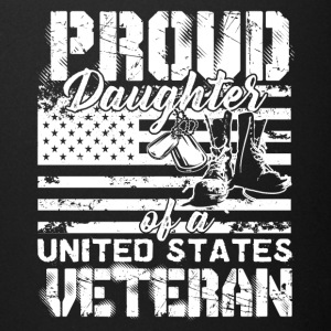 Proud Daughter Of A US Veteran Shirt - Full Color Mug