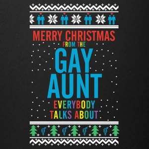 Merry christmas from the gay aunt everybody talks - Full Color Mug