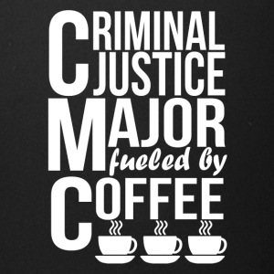 Criminal Justice Major Fueled By Coffee - Full Color Mug