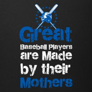 Great baseball players are made by their mothers - Full Color Mug
