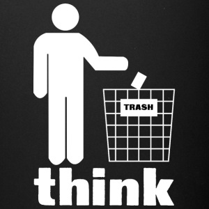 Think trash - Full Color Mug