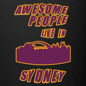 SYDNEY Awesome people live in - Full Color Mug