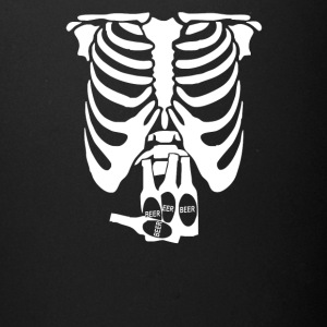 Beer Belly Xray Skeleton Funny - Full Color Mug