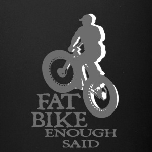 FAT BIKE TSHIRT - Full Color Mug
