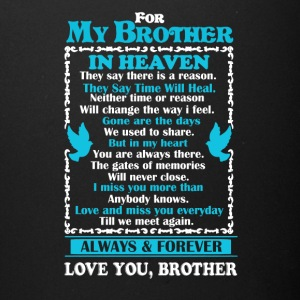 Brother In Heaven Shirt - Full Color Mug