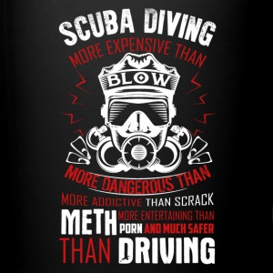 Scuba Diving Shirt - Full Color Mug