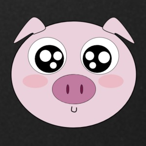 Kawaii Pig Face - Full Color Mug