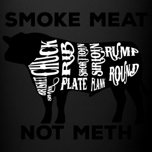 Smoke meat not meth beef edition - Full Color Mug
