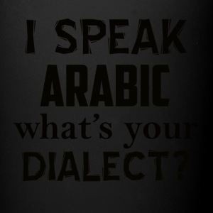ARABIC dialect - Full Color Mug
