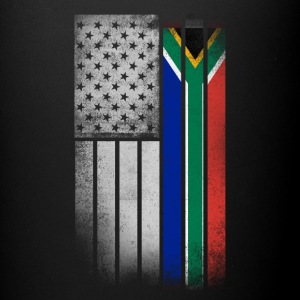 South African American Flag - Full Color Mug