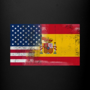 Spanish American Half Spain Half America Flag - Full Color Mug