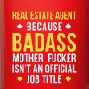Badass Real Estate Agent Professions T-shirt - Full Color Mug
