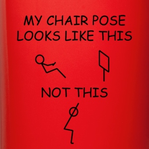 Chair pose is different for everyone - Full Color Mug