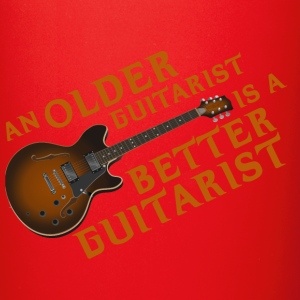 An Older Guitarist is a Better Guitarist - Full Color Mug