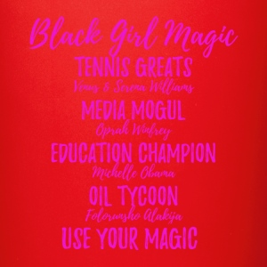 BlackGirlMagicpink - Full Color Mug