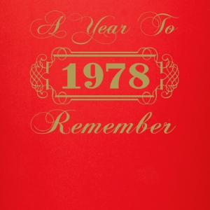 1978 A Year To Remember - Full Color Mug