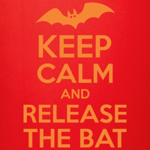 Keep Calm And Release The Bat Halloween - Full Color Mug