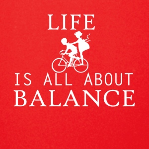 life all about balance fahrrad bycicle chain - Full Color Mug