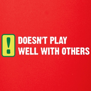 Does Not Play Well With Others! - Full Color Mug