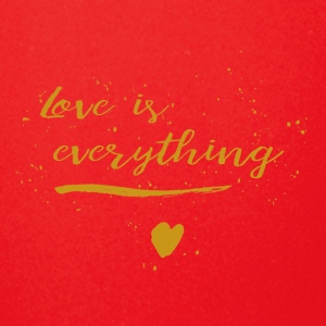 love is everything heart - Full Color Mug