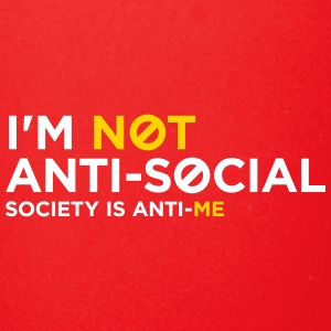 I'm Not Anti-social. You Do Not Like Me! - Full Color Mug