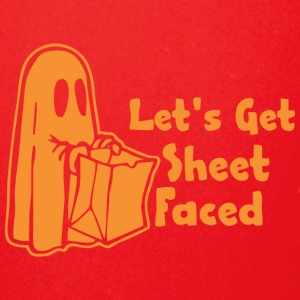Halloween Lets Get Sheet Faced - Full Color Mug