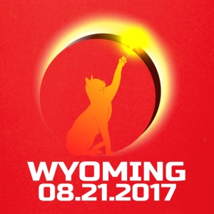 Total Solar Cat Eclipse Wyoming 21.08.2017 - Full Color Mug