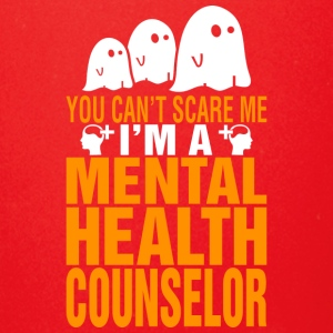 You Cant Scare Me Mental Health Counselor Hallowee - Full Color Mug