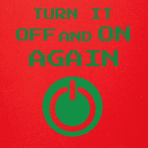 turn it off and on again - Full Color Mug