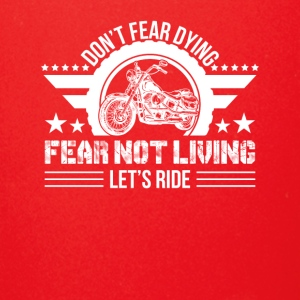 Fear Not Living Let Ride Motorcycle Love - Full Color Mug