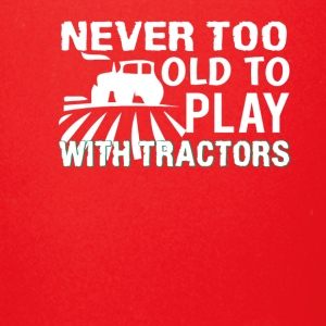 Never Too Old To Play Tractor Farmer - Full Color Mug