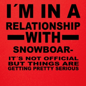relationship with SNOWBOARDING - Full Color Mug