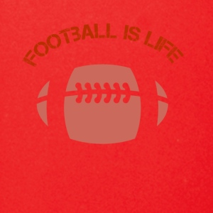 Foot Ball is Life Red Logo - Full Color Mug