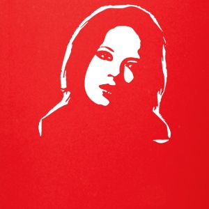 Shirley Manson Airbrushed stencil - Full Color Mug