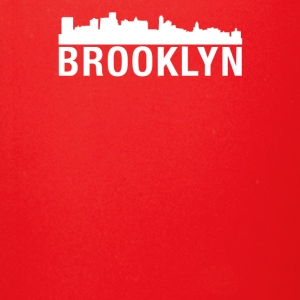 Brooklyn City Skyline Silhouette - Full Color Mug