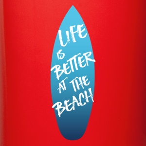 LIVE IS BETTER AT THE BEACH - Full Color Mug